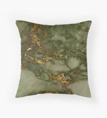 Autumn Marble Pattern 1 Throw Pillow