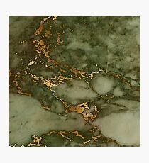 Autumn Marble Pattern 1 Photographic Print