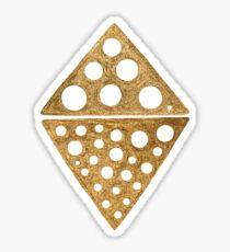 GOLD ethnic tribal pattern Sticker