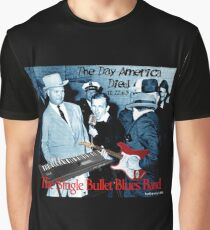 The Single Bullet Blues Band Graphic T-Shirt