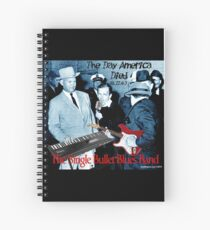 The Single Bullet Blues Band Spiral Notebook
