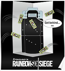 R6 - MONTAGNE - Corner Trick Poster