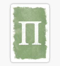 Capital Pi Sticker