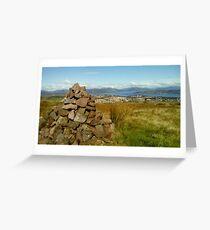 Scotland's Cairn Greeting Card