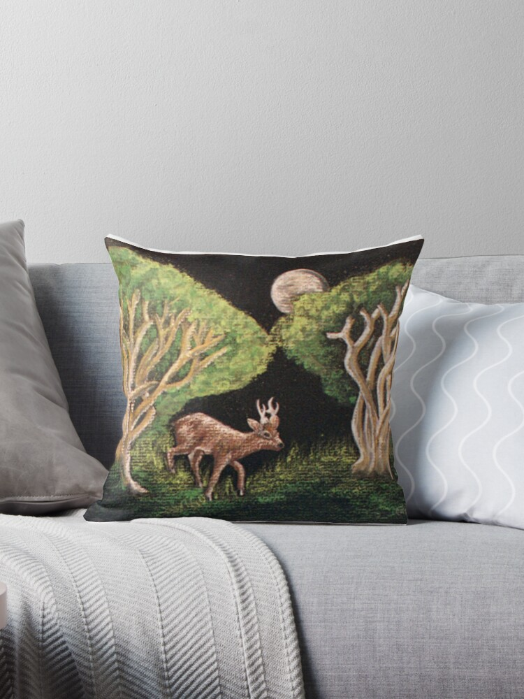 Fairy of the Forest Deer by sharpie