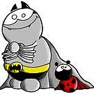 Superheroes - Fredthesuperbat von Bastian Melnyk