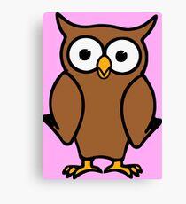 Alvin the Owl Canvas Print