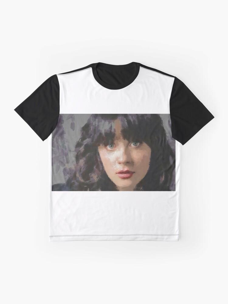 Alternative Ansicht von Zooey Grafik T-Shirt