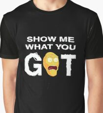 Rick and Morty Hoodie - Show me what you got! Rick & Morty SweatShirt – Awesome Rick and Morty Gift - Funny Rick and Morty Hoodie Graphic T-Shirt
