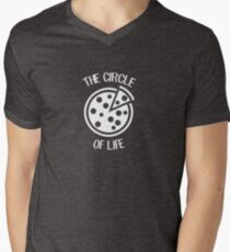The Circle Of Life - Pizza Slice Circle Food Joke Puns Funny Cool Witty Double Meaning Humor Laugh  T-Shirt
