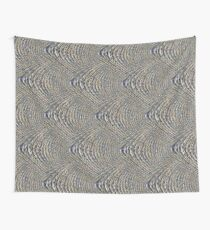 Fractured Crochet Lavender Wall Tapestry