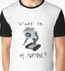 Funny Rick and Morty Shirt - What Is My Purpose? (All Sizes) -You Pass the Butter Rick & Morty T-shirt – Rick and Morty Gift - Butter Robot Graphic T-Shirt