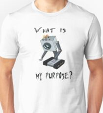 Funny Rick and Morty Shirt - What Is My Purpose? (All Sizes) -You Pass the Butter Rick & Morty T-shirt – Rick and Morty Gift - Butter Robot T-Shirt