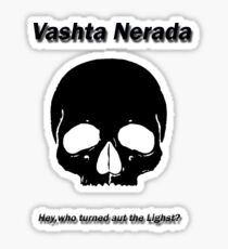 doctor who,vashta nerada Sticker