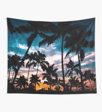 Palmen Sommertraum Wandbehang