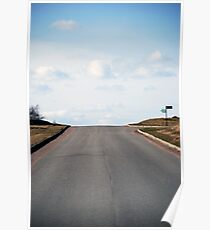 Road sign  Poster