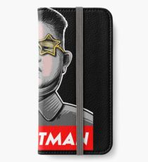 President Trump Called Kim Jong Un Rocketman so I made it a t shirt. iPhone Wallet/Case/Skin