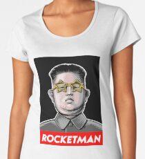President Trump Called Kim Jong Un Rocketman so I made it a t shirt. Women's Premium T-Shirt