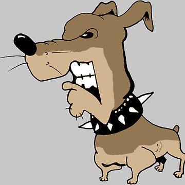 Angry Grrr Dog by etourist