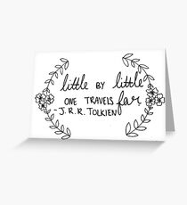 J.R.R. Tolkien Quote  Greeting Card
