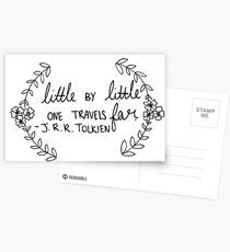 J.R.R. Tolkien Quote  Postcards