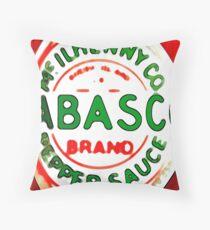 Tabasco Throw Pillow
