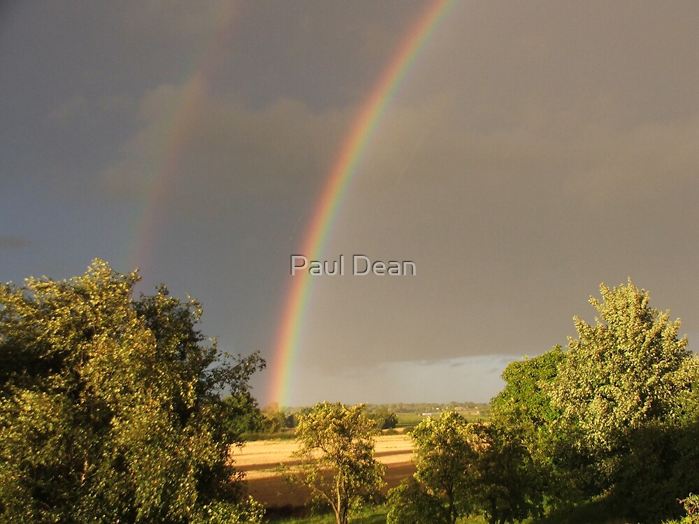 double rainbow 2 by Paul Dean