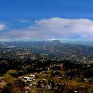 Panorama From Pachamama II by Al Bourassa