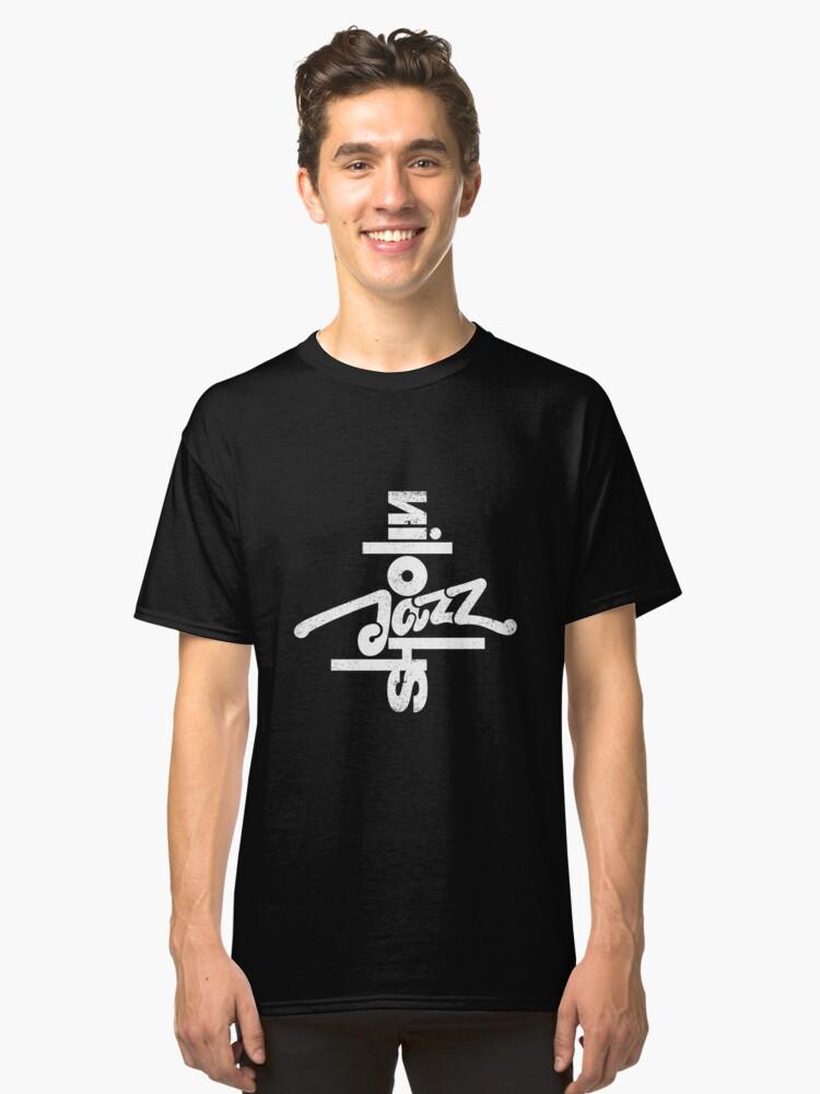 SHAOLIN JAZZ - Compass en Blanco Classic T-Shirt Front