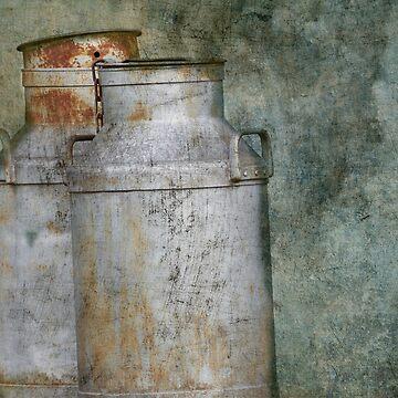Rusty old Milk Buckets by AJ-artography