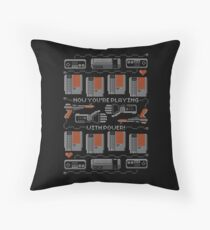 Now You're Playing With Power! T-Shirt Floor Pillow