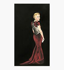 Gillian Anderson Original Painting 2017 Emmys Photographic Print