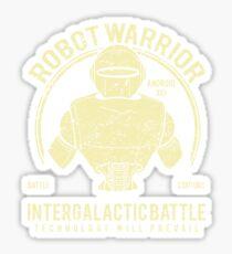 Robot Warrior - Intergalactic Battle  Sticker