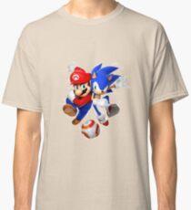 Mario and Sonic Rio 2016 Classic T-Shirt