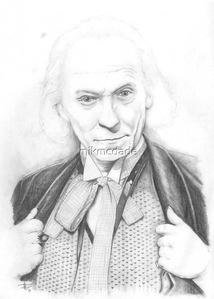 First Doctor - Classic Who by mikmcdade