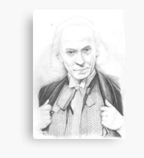 First Doctor - Classic Who Canvas Print