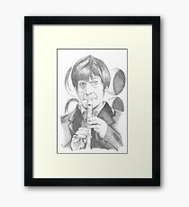 Second Doctor - Classic Who Framed Print