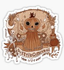 Halloweeny gardens Sticker