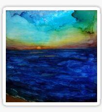 Sunset Seacape #1 Sticker