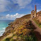 Wheal Coates mining engine house  St Agnes Cornwall by eddiej