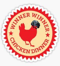 Pegatina PUBG - Winner Winner Chicken Dinner 3