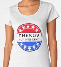 CHEKOV FOR PRESIDENT Women's Premium T-Shirt
