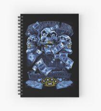 Hustlin Money Spiral Notebook