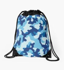 Water Camouflage Drawstring Bag