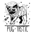 Pug-Tactic Space Pug by reslanh