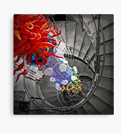 Four Elements Squared Canvas Print