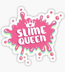 Slime Queen Splatter Sticker