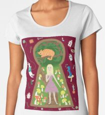 Alice (Fairy Tale Fashion Series #4) Women's Premium T-Shirt