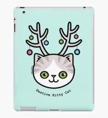 Festive Kitty Cat iPad Case/Skin