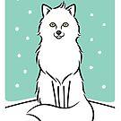 White Fox by zoel
